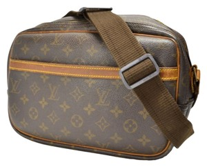 Louis Vuitton Reporter Crossbody Nile Amazon Messenger Bag