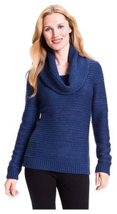 Classiques Entier Knit Wool Angora Cowl Silver Sweater