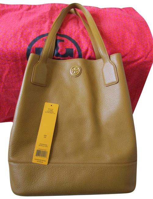 Item - Large Michelle Tote Yellow Spice Leather Hobo Bag