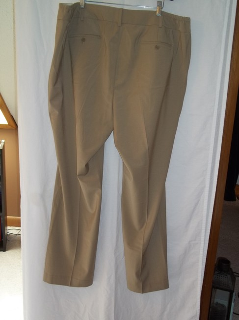 Talbots Straight Pants Tan