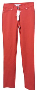 Romeo & Juliet Couture And Nwt Orange Tights Straight Pants Red