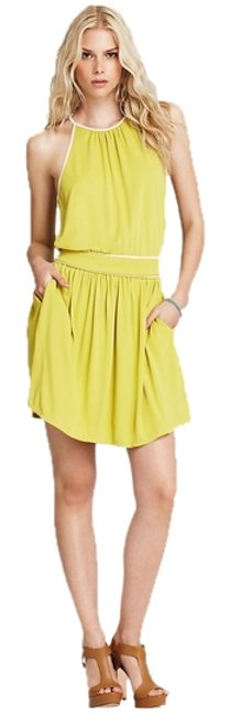 Preload https://item5.tradesy.com/images/juicy-couture-lime-v-neck-mid-length-short-casual-dress-size-10-m-955339-0-0.jpg?width=400&height=650