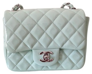 Chanel Mini Square Quilted Cross Body Bag