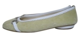 Bellofatto Pale Yellow Flats