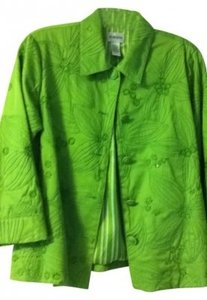 Chico's green Blazer