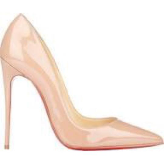 Christian Louboutin So Kate So Kate Best Soldout Nude Pumps Image 1
