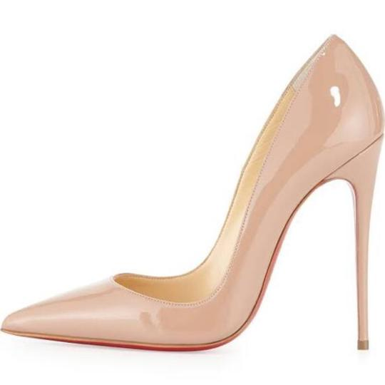 Christian Louboutin So Kate So Kate Best Soldout Nude Pumps Image 2