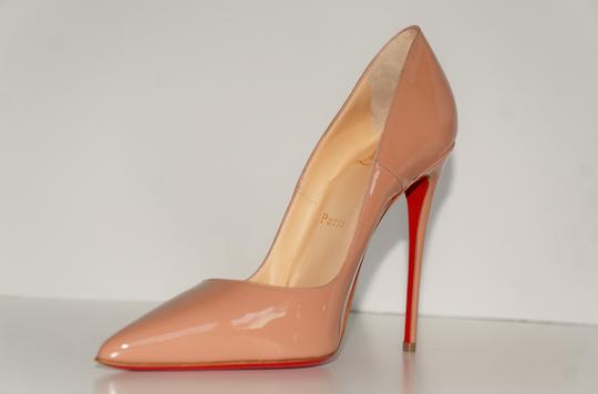Christian Louboutin So Kate So Kate Best Soldout Nude Pumps Image 5