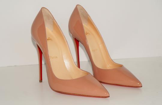 Christian Louboutin So Kate So Kate Best Soldout Nude Pumps Image 8