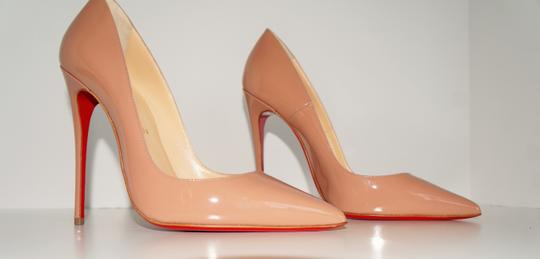 Christian Louboutin So Kate So Kate Best Soldout Nude Pumps Image 9