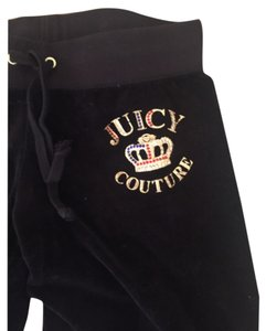 Juicy Couture Athletic Pants Blac