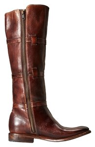 Bed|Stü Tan Rustic Leather Boots