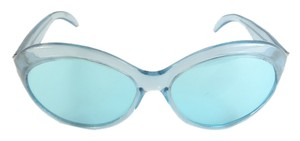 Kate Spade Kate Spade Cool Blue Round Sunglasses New