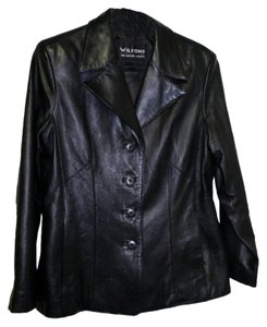 Wilsons Leather Fitted Leather Jacket
