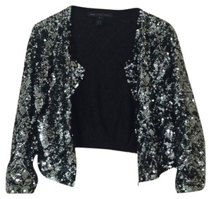 Marc by Marc Jacobs Sequin Metallic Evening Formal Holiday Cardigan