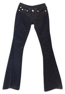 True Religion Cotton Velvet Worn Once Sexy Joey Big T Boot Cut Jeans