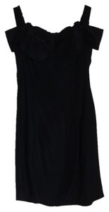Jessica McClintock Open Shoulder Vintage Evening Dress