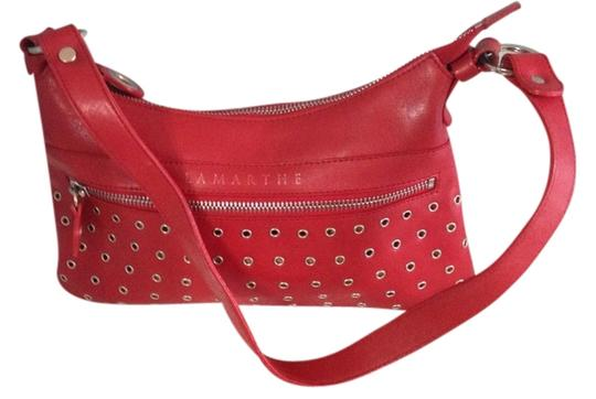 Preload https://item4.tradesy.com/images/lamarthe-paris-with-silvertone-hardware-and-design-purse-red-leather-shoulder-bag-955883-0-0.jpg?width=440&height=440