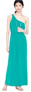 Green Maxi Dress by J.Crew Maxi Comfortable One Shoulder