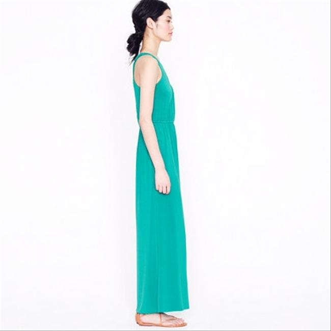 Green Maxi Dress by J.Crew Maxi Comfortable One Shoulder Cute Summer