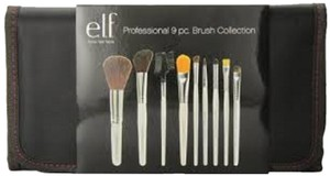 e.l.f. Professional 9 pc. Brush Set New