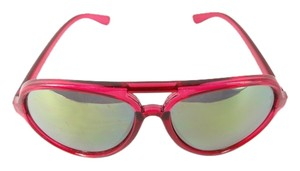 Kate Spade Kate Spade Wide long Red Mirror Sunglasses New
