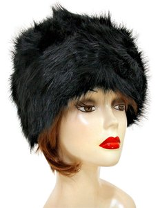 Other Warm Chic Black Fur Winter Hat