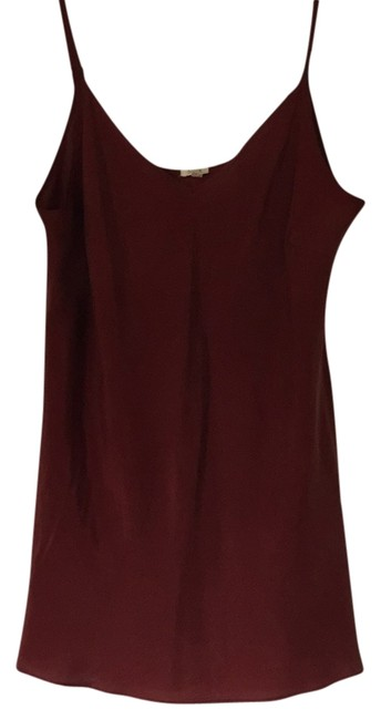 Item - Rust Silk Tank Top/Cami Size 6 (S)