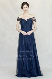 Jenny Yoo Navy Annabelle Dress Dress