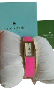 Kate Spade Kate Spade Carousel Bangle Bracelet Watch Bubblegum Hot Pink and Gold Tone HOT TO TROT $250. NEW WITH TAG IN DESIGNER BOX