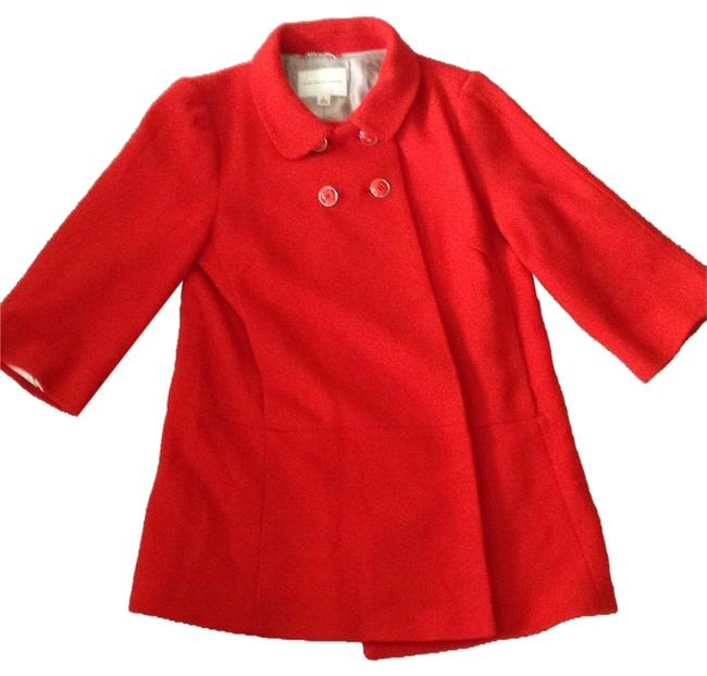 Item - Burnt Red-orange Coat Size 12 (L)