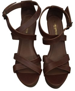 Mossimo Supply Co. Brown Platforms