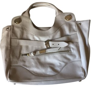 Foley + Corinna Satchel in Ivory