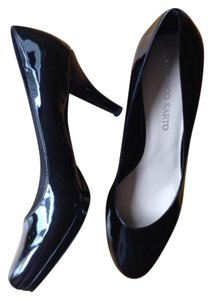 Franco Sarto Black patent Platforms