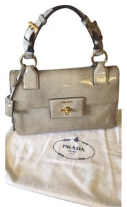 Prada Satchel in Cera Fume'