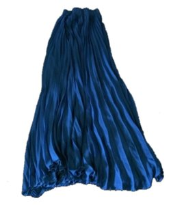 So French Maxi Skirt Blue