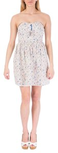 BeBop short dress White with multi-color design on Tradesy
