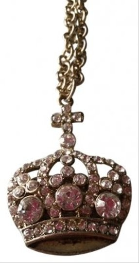 Other Glam Crown Necklace