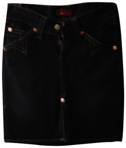 Levi's Levis Denim Jeans Skirt DARK BLUE