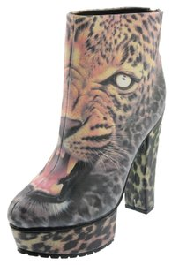 Iron Fist Leopard/black Boots