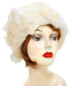 Warm Chic Cream Fur Winter Hat