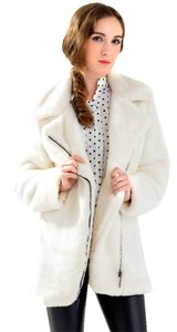 OASAP Faux Rabbit Fur Winter Dressy Fur Coat