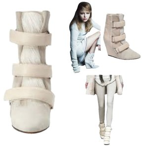 Isabel Marant White / cream Boots