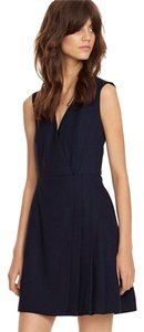 Tory Burch short dress Navy on Tradesy