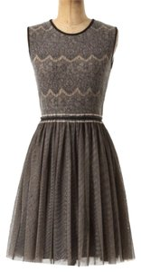 Weston Wear Romantic Anthropologie Ballerina Tulle Lace Knitted Dress