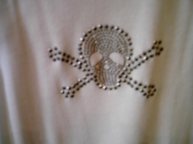 Other Skull And Crossbones Top WHITE