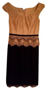 Maggy London Lace Lace Trim Dress