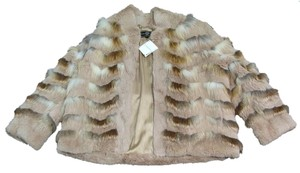 St. John New Sport Mariegray Fur Coat