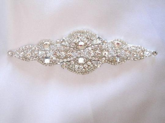 Dress Gown Beaded Crystal Belt Sash
