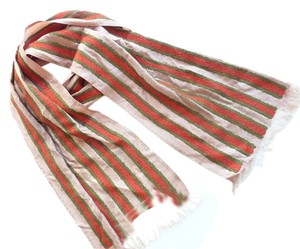 Dries van Noten mutli color stripe scarf
